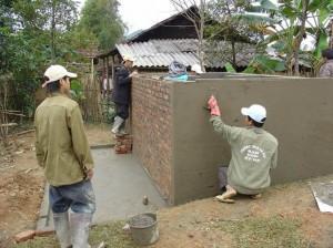 Bau Wasserspeicher