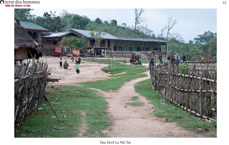 Landwirtschafts- und Bildungsprojekte in der Provinz Salawan
